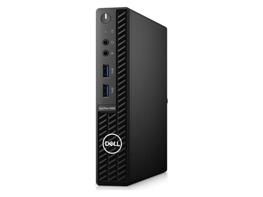 Desktop Dell OptiPlex 3080 MFF i3-10105T/4GB/128GB/W10P/5Y (N206O3080MFF)