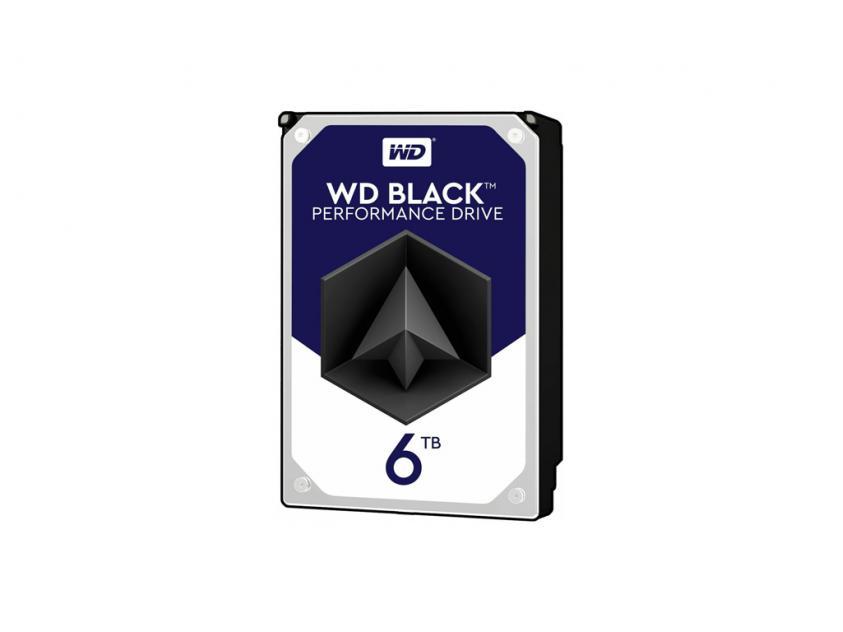 Internal HDD Western Digital Black 6TB SATA III 3.5-inch (WD6003FZBX)