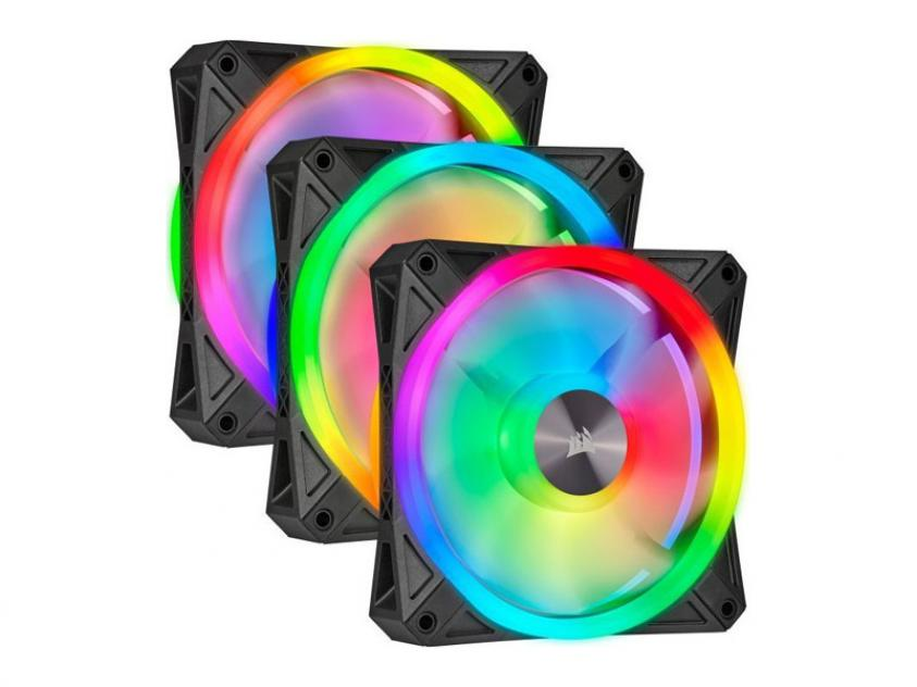 Case Fan Corsair iCUE QL120 RGB 120mm 3-Pack (CO-9050098-WW)