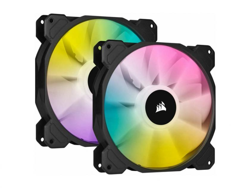 Case Fan Corsair iCUE SP140 RGB Elite Performance 140mm 2-Pack (CO-9050111-WW)