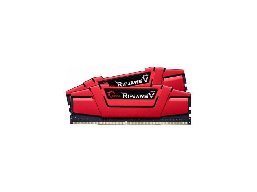 RAM G.Skill RipjawsV 8GB Kit (2x4GB) DDR4-2666MHz (F4-2666C15D-8GVR)