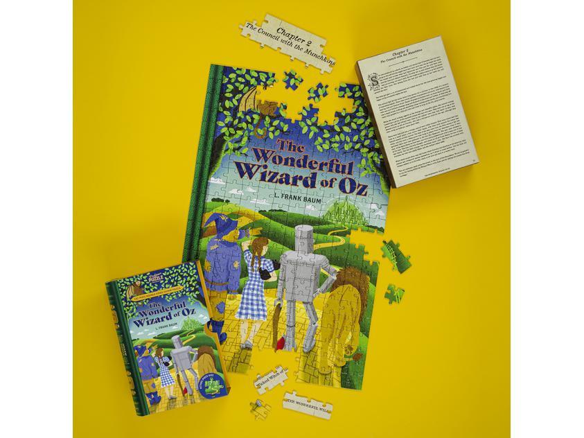 Jigsaw The Wonderful Wizard of Oz - 252 Piece Double-Sided (5056297206026)
