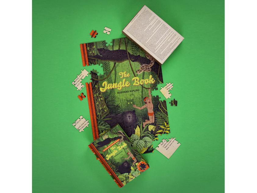 Jigsaw The Jungle Book – 252 Piece Double-Sided (5056297208693)