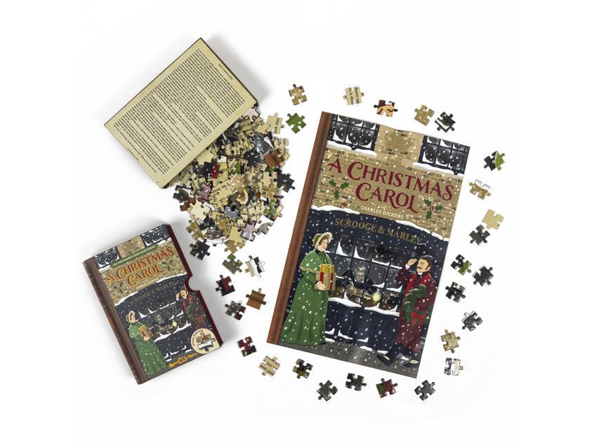 Jigsaw A Christmas Carol – 252 Piece Double-Sided (5056297206040)