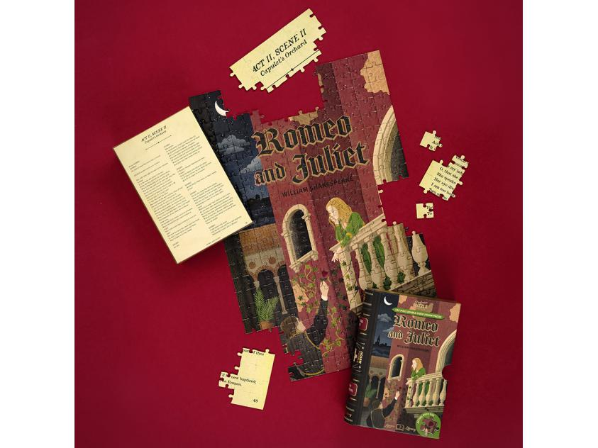 Jigsaw Romeo and Juliet – 252 Piece Double-Sided (5056297206033)