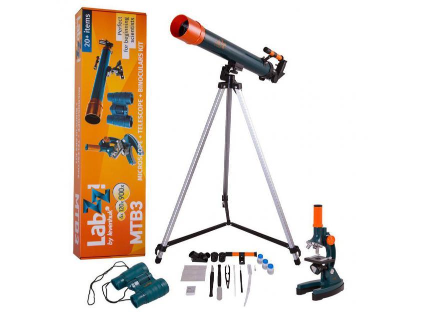 Τηλεσκόπειο KIT 2 LABZZ MTB3 50mm + Microscope+ΚΙΑΛΙΑ (0611901504889)