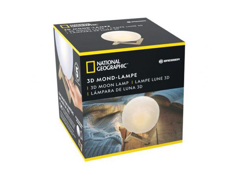 GADJET 3D MOON NATIONAL GEOGRAPHIC LAMP (4007922058955)