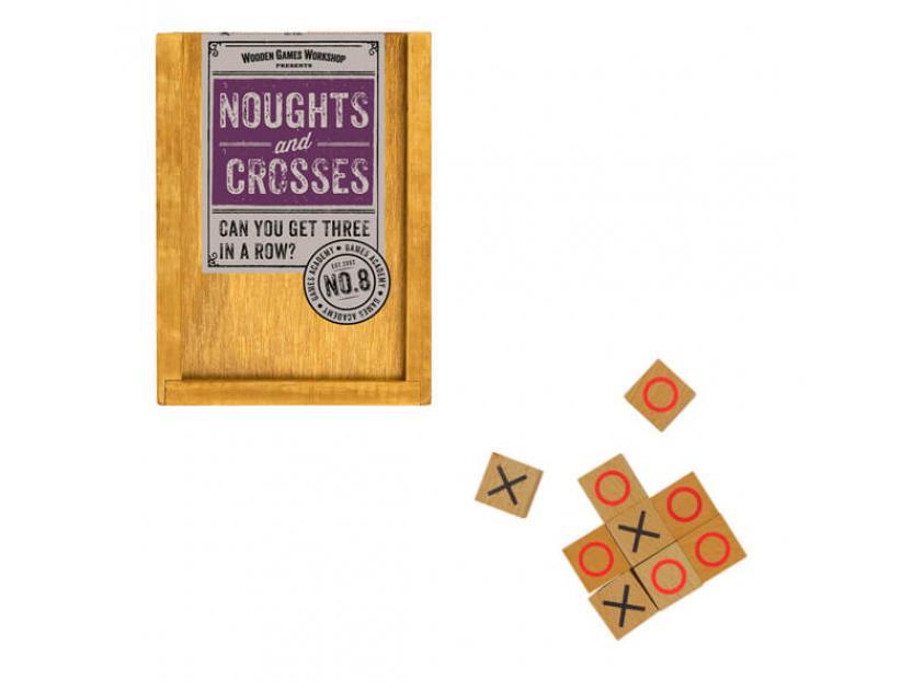 Vintage Board Games Wooden Games Workshop Noughts & Crosses (5060506531465)