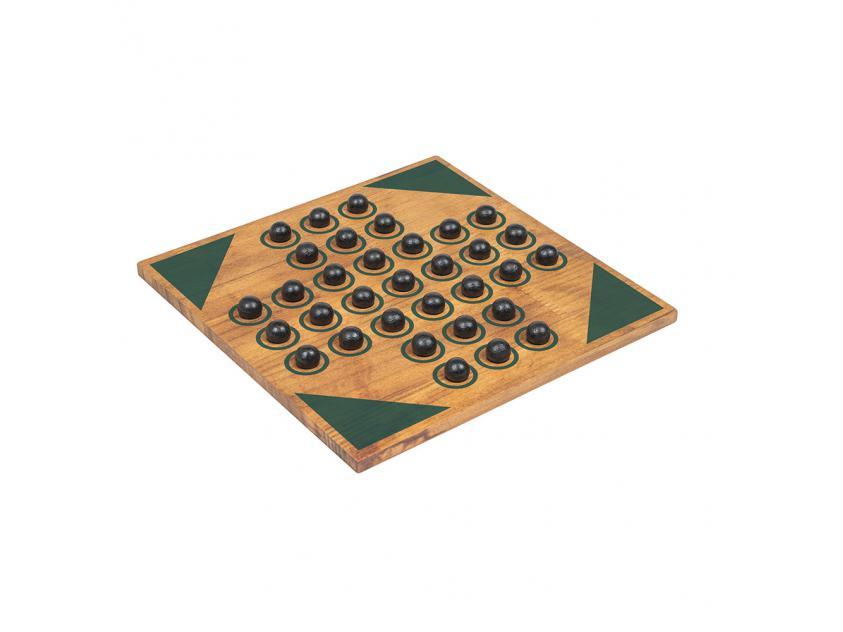 Vintage Board Games Wooden Games Workshop Solitaire (5056297201069)