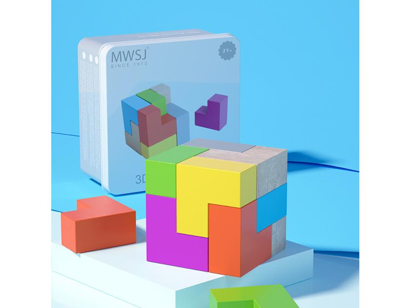 Board Games3D Cube Blocks (6935494725860)